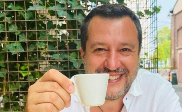 Matteo Salvini vaccinato