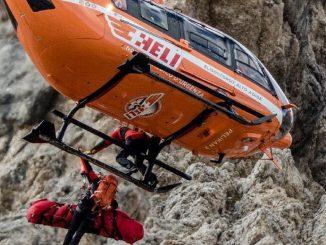 L'elisoccorso Pelikan 2 in azione