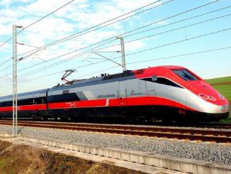 Un treno dell'Alta Velocità