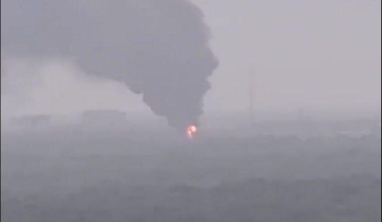 USA incendio centrale elettrica