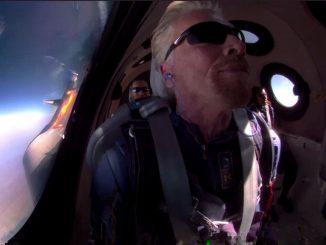 Viaggio nello spazio di Branson