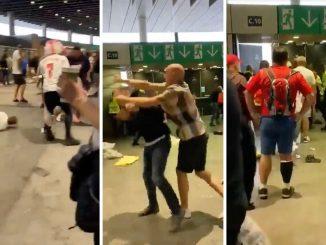 Video Salvini scontri tifosi