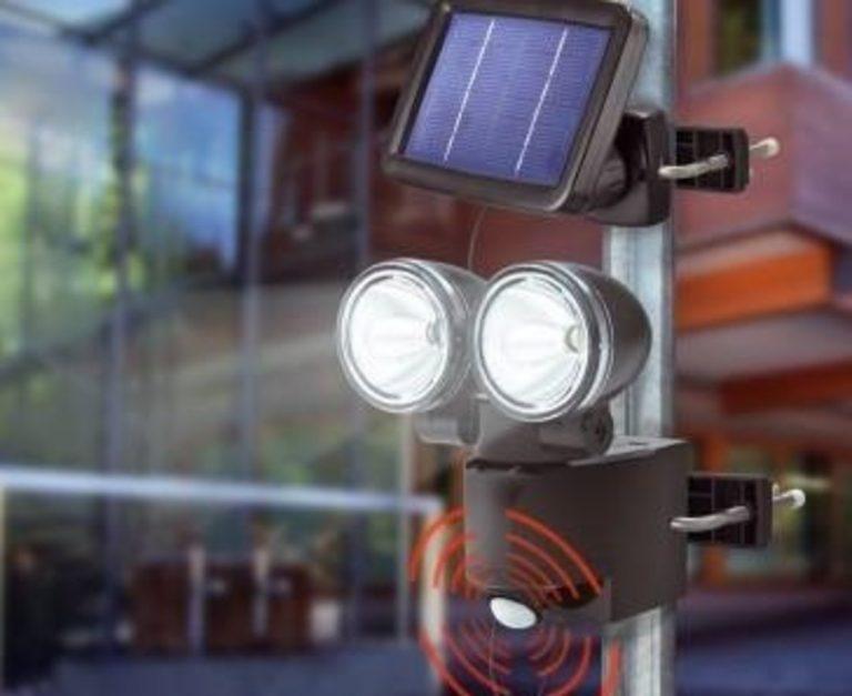 faretto energia solare