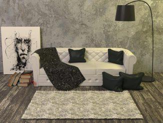 living room divano