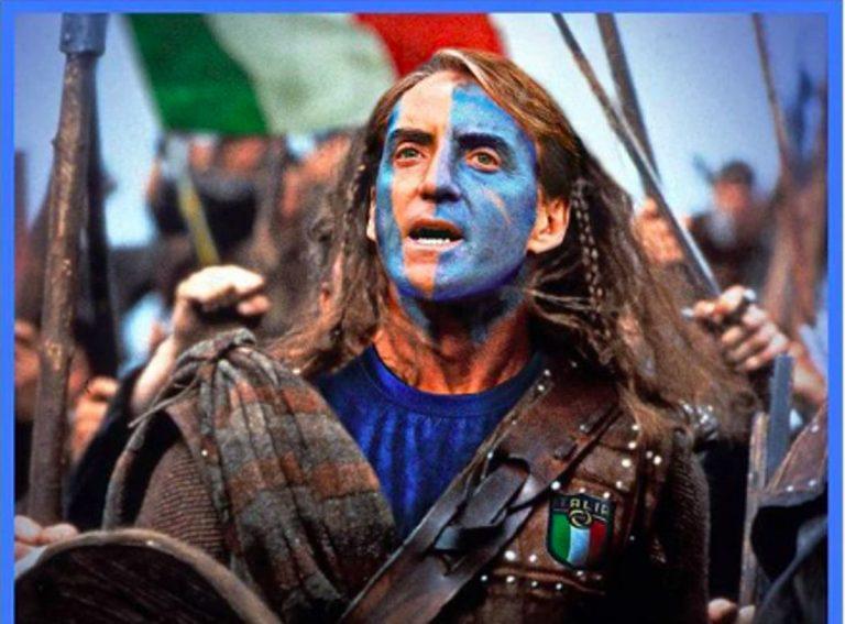 Roberto Mancini Braveheart