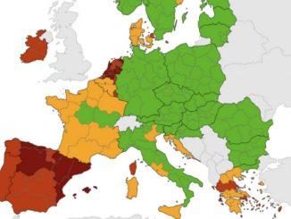 mappa Ue zone rischio