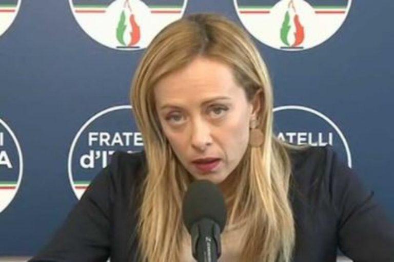 Giorgia Meloni green pass