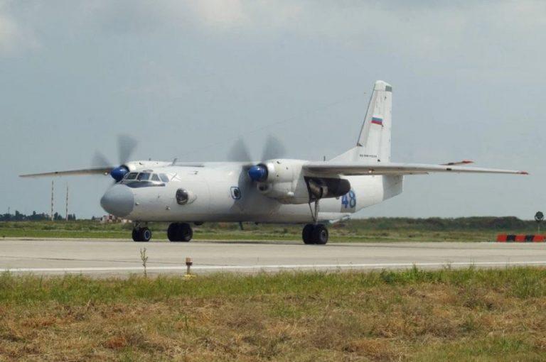 perso contatto con aereo precipitato russia