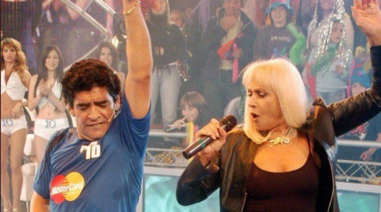 Raffaella Carrà e Maradona
