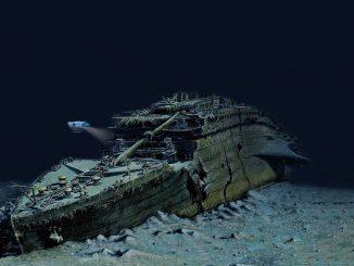 static titanic website
