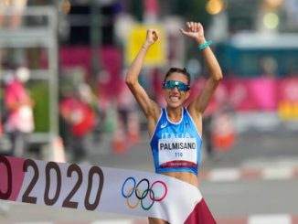 Antonella Palmisano medaglia d'oro