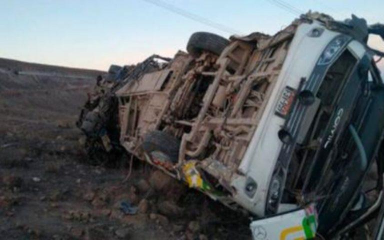 Autobus precipitato Perù