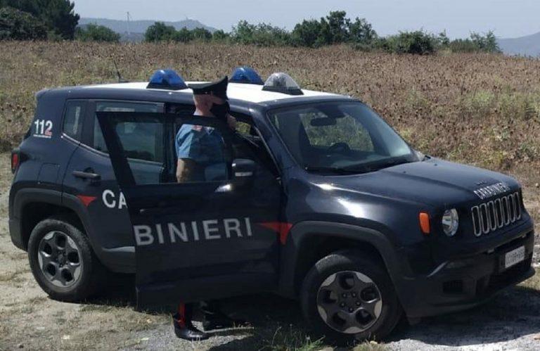 Carabinieri all'opera contro una mega festa in villa