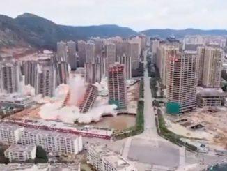 Cina 15 grattacieli demoliti
