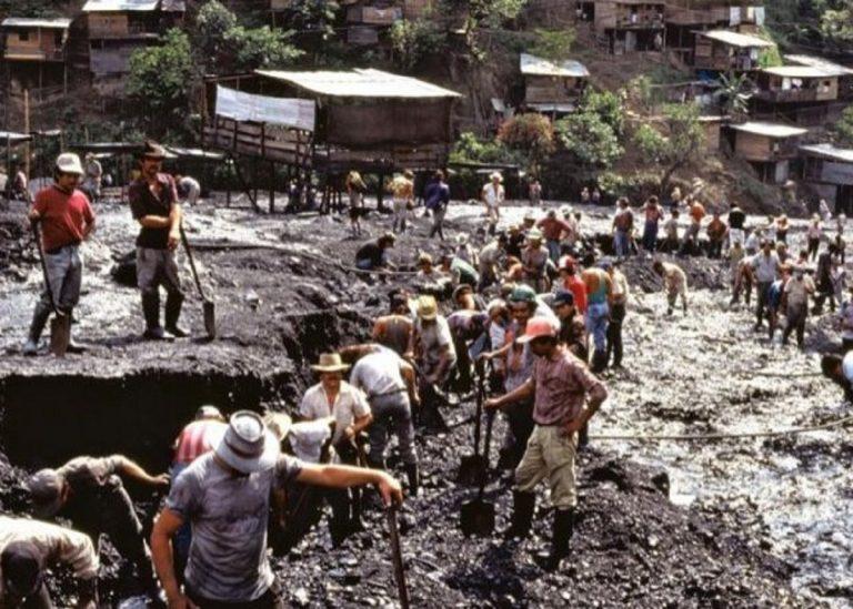 Le miniere illegali somo molto diffuse in Colombia