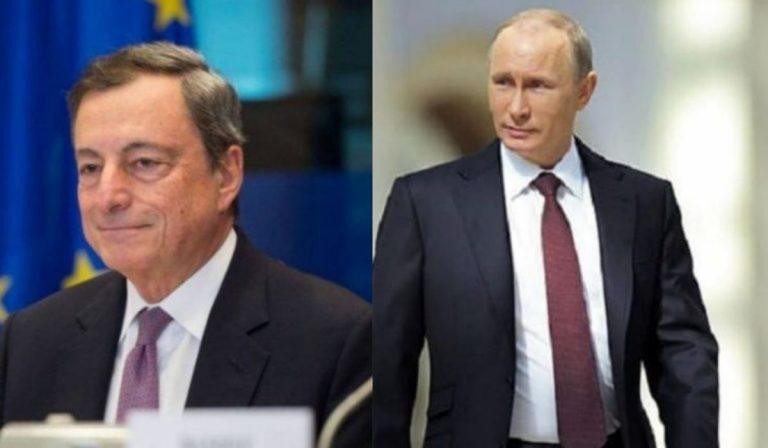 Draghi Putin su Afghanistan