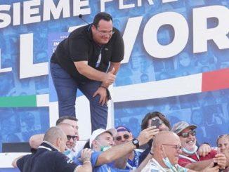 Il Sottosegretario leghista Claudio Durigon