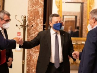 Green pass sindacati Draghi
