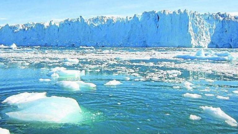 Il disgelo in atto nell'area artica