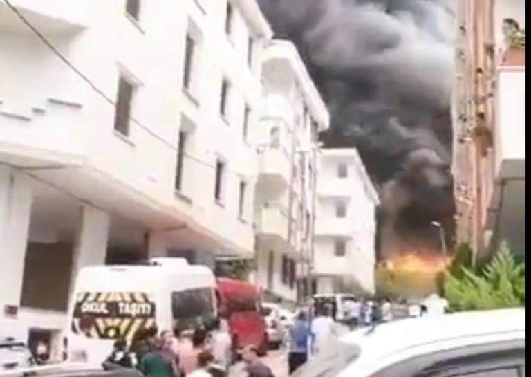 Incendio Turchia