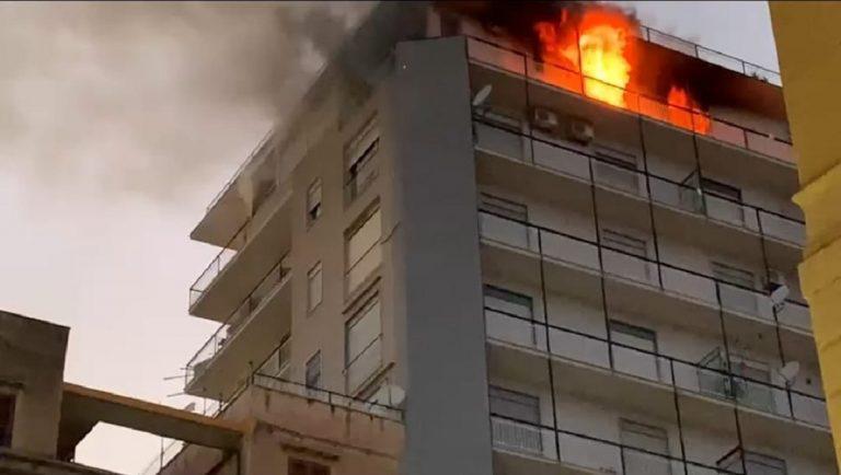 Incendio in un appartamento ad Agrigento