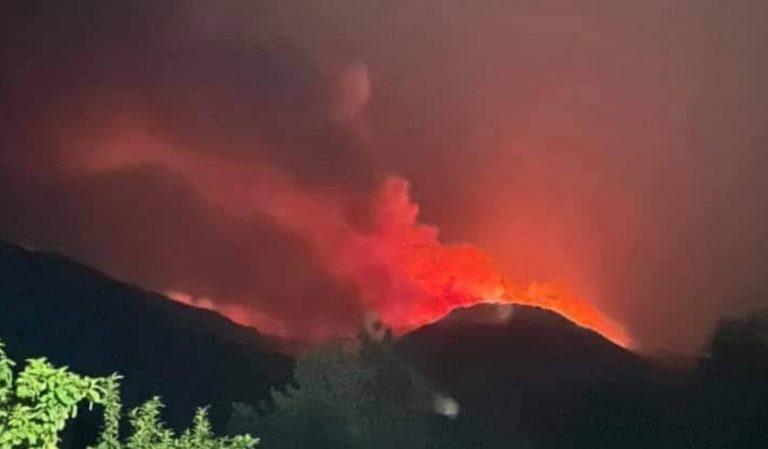 Incendio Calabria