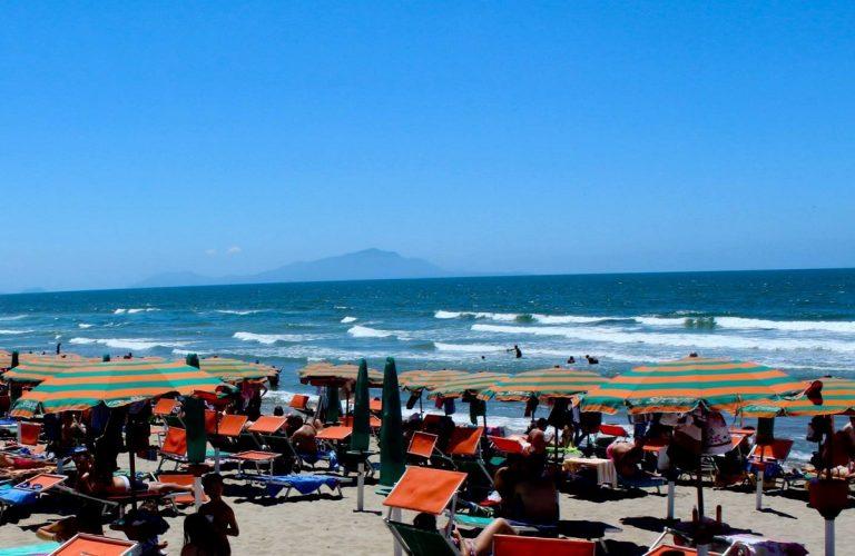 Un'immagine del litorale casertano di Ischitella