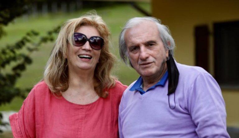 Iva Zanicchi e suo fratello