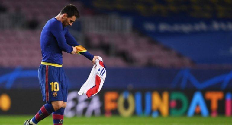 Messi PSG papà
