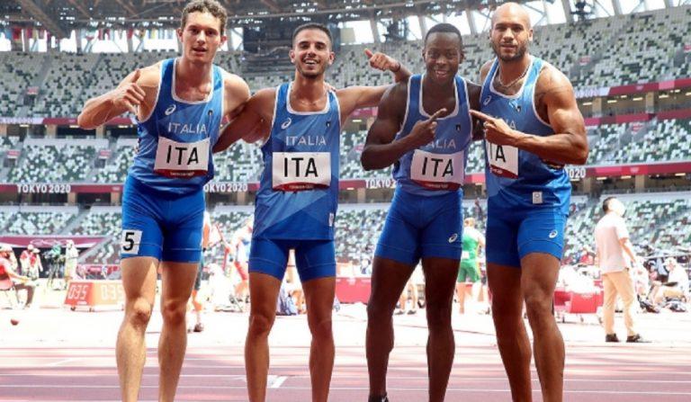 Olimpiadi oro staffetta 4x100
