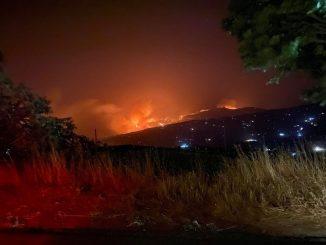 Incendio nelle Madonie e Monreale