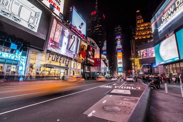 Evacuata parte di Times Square a New York