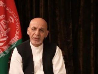 Ghani parla alla Nazione