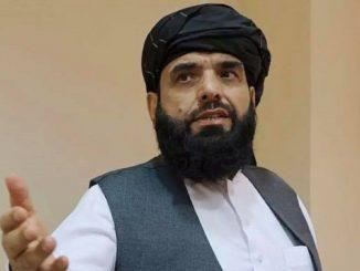 Suhail Shaheen, uno dei portavoce dei talebani