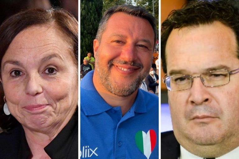 Salvini Lamorgese dimissioni Durigon