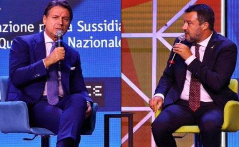 Salvini sul reddito di cittadinanza