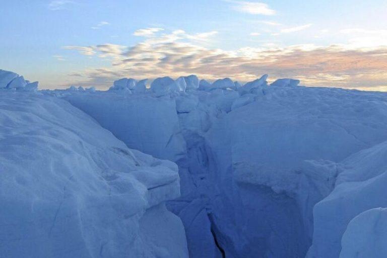 Scioglimento ghiacciai in Groenlandia: effetto cambiamento climatico
