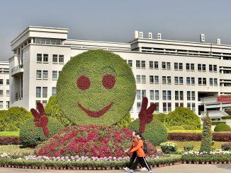 Un edificio dell'ateneo di Shangai
