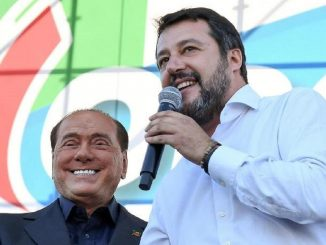 Silvio Berlusconi e Matteo Salvini