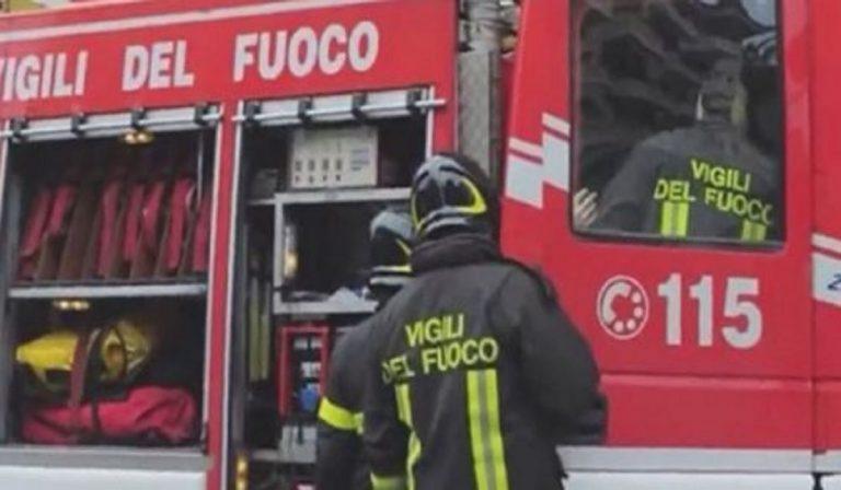 Torino incendio palazzina