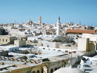 Uno scorcio del vecchio centro di Tripoli