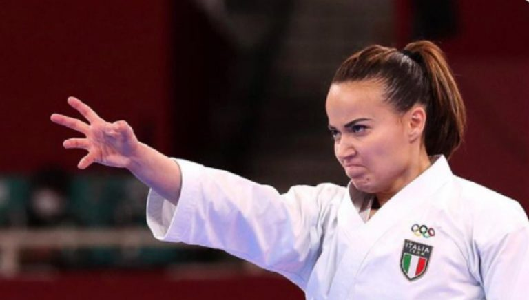 Viviana Bottaro bronzo karate