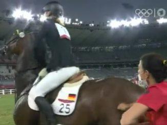 cavallo non salta olimpiadi
