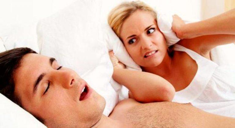 come smettere di russare