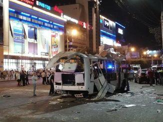 esplosione autobus russia