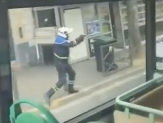 polizia francia sparatoria strada