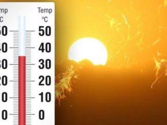 settimana di caldo