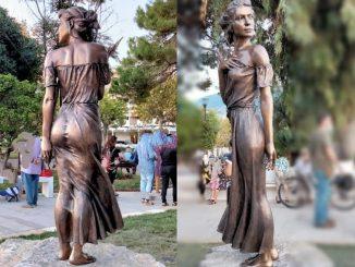 Statua della Spigolatrice di Sapri: è polemica