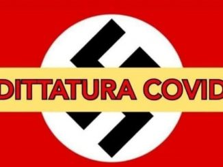 """Una delle tipiche """"card"""" di Basta Dittatura"""