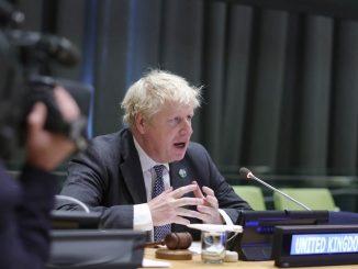 Il premier britannico Boris Johnson